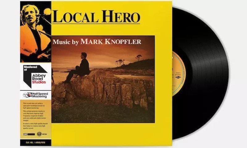 "Mark Knopfler's 1983 soundtrack ""Local Hero"""
