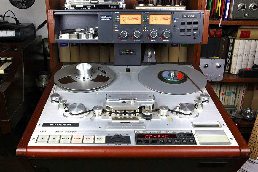 Tape recorder Studer A820