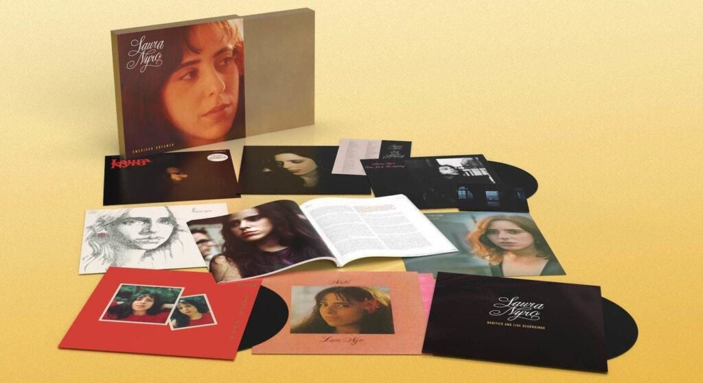 Laura Niro of the 60s and 70s will be released in an 8-disc vinyl box set