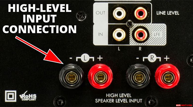 And if there is no such output, connect to the high-level input of the sub