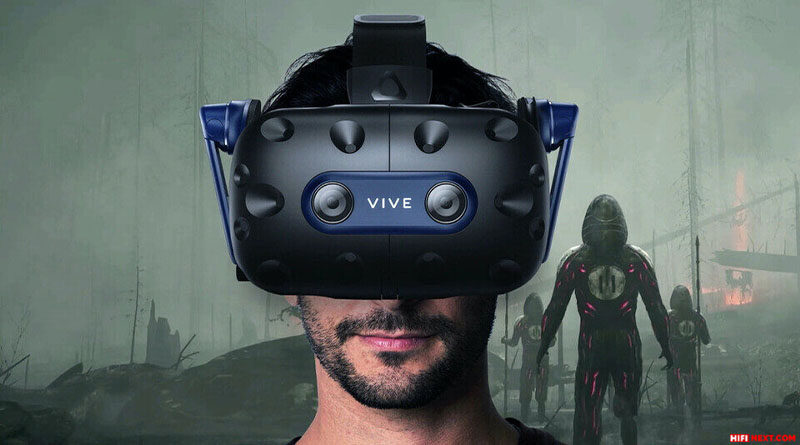 Headsets HTC Vive Focus 3 and Vive Pro 2 equipped with 5K displays