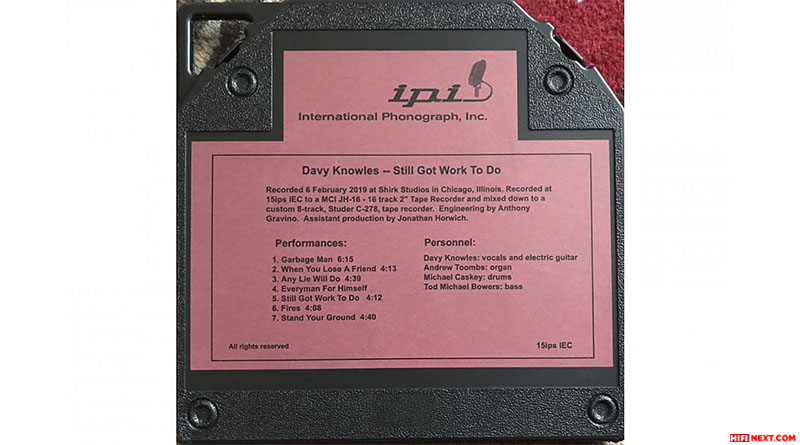 INTERNATIONAL PHONOGRAPH INC