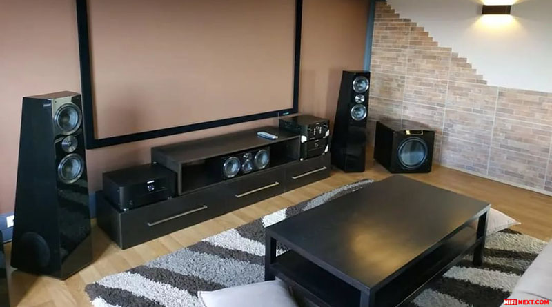 Place the subwoofer in the corner of the hall