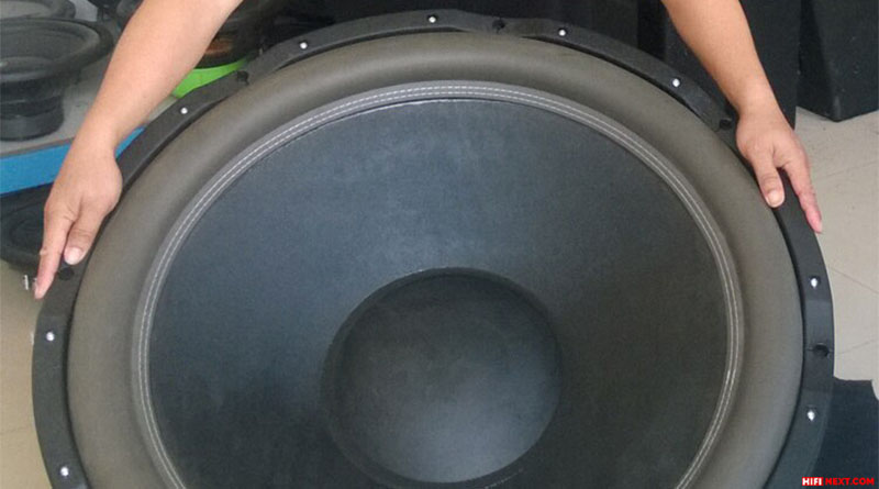 The larger the subwoofer diffuser is, the better