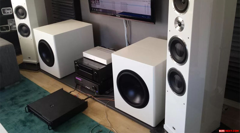 Two identical subwoofers will sound much better than one