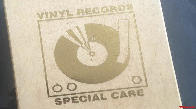 Vinyl Record Cleaning Boxset Woodedition