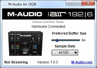 M-Audio Air 192   8 driver