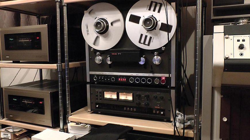 Tape recorder TEAC F-1