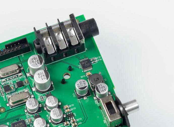 Dedicated headphone amplifier NCP2811