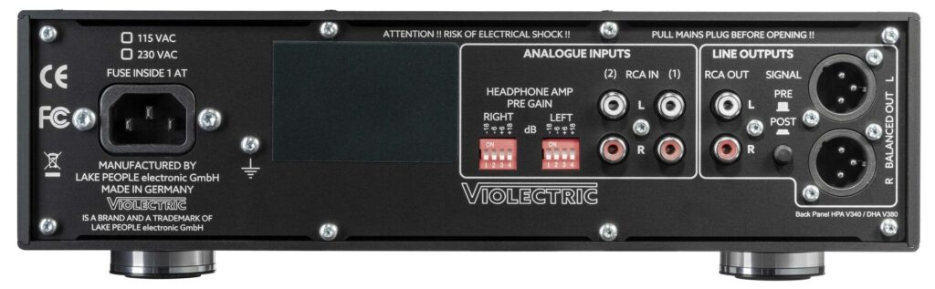 Violectric HPA V340