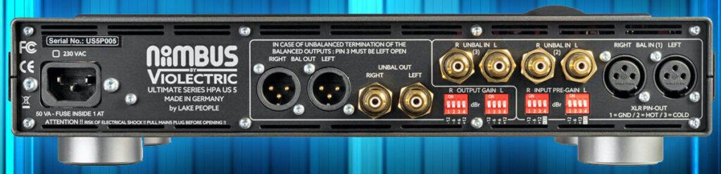CMA Audio Niimbus US5 and US5 Pro headphone amplifiers
