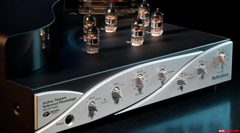 Zesto Audio Andros Téssera reference phono stage