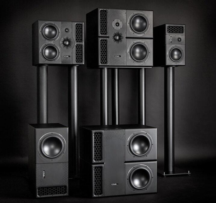 PMC studio monitors