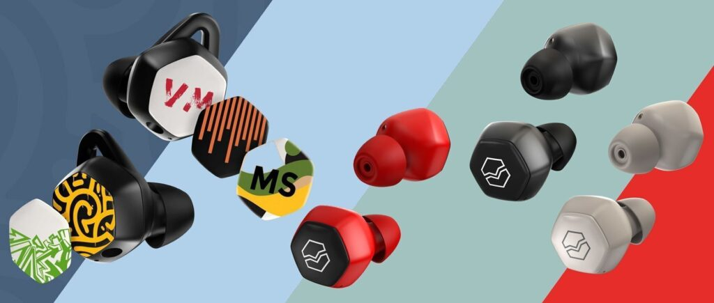 V-Moda Hexamove wireless earbuds series