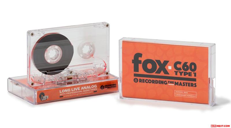 RTM Fox C60 Type I Audio Cassette